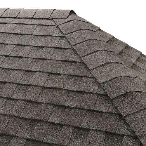 GAF Seal-A-Ridge IR 25-lin ft Pewter Gray Hip and Ridge Roof Shingles