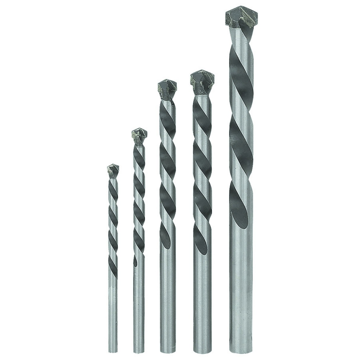 Masonry Drill Bit Set 5 Pc