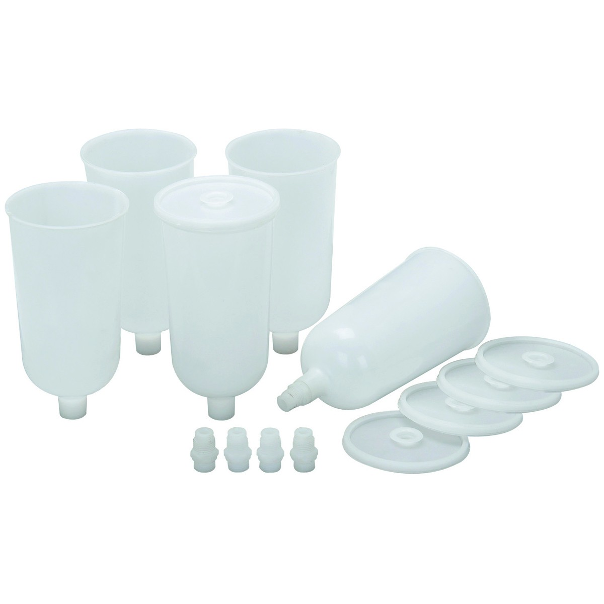 Air Spray Gun Disposable Paint Cups 5 Pk